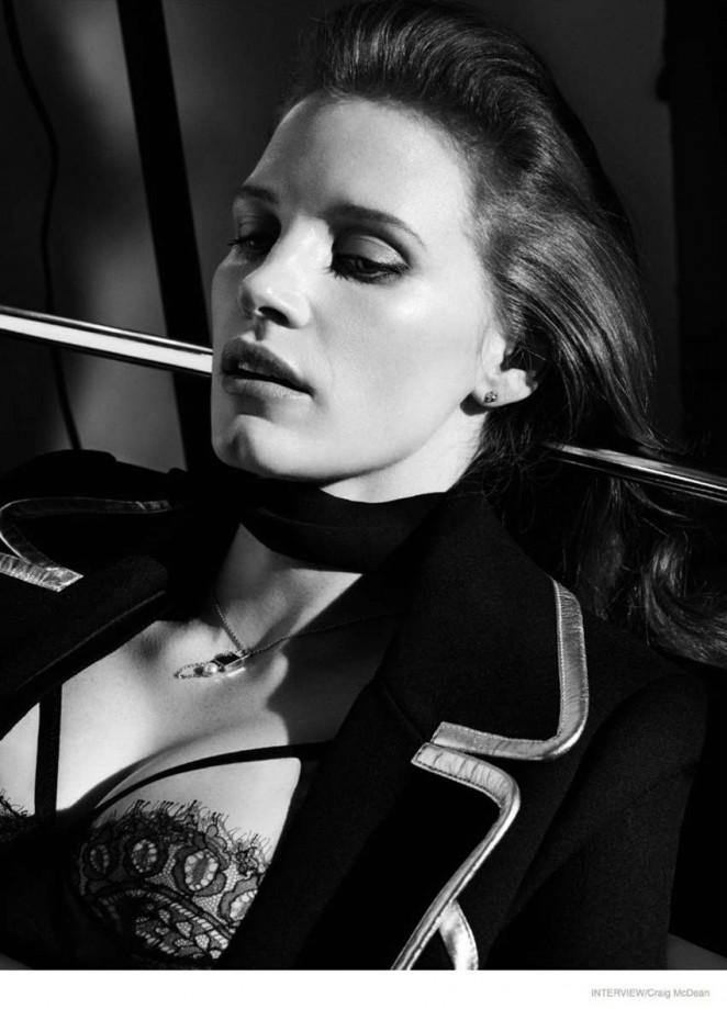 Jessica Chastain - Interview Magazine (October 2014)