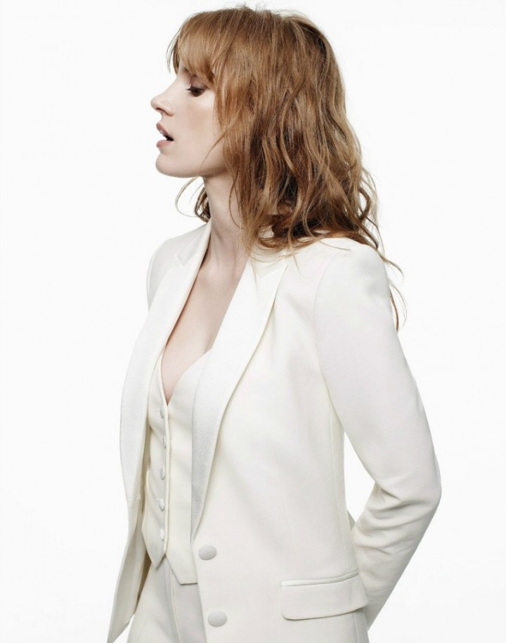 Jessica Chastain - Madame Figaro France Magazine (September 2014)