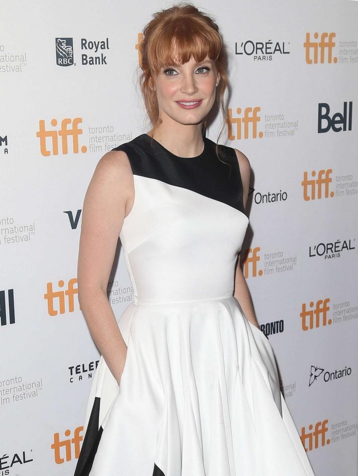 """Jessica Chastain - """"Miss Julie"""" TIFF Premiere in Toronto"""