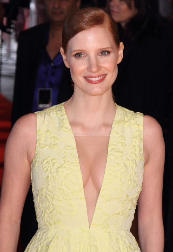 "Jessica Chastain - ""Salome And Wilde Salome"" Screening in London"