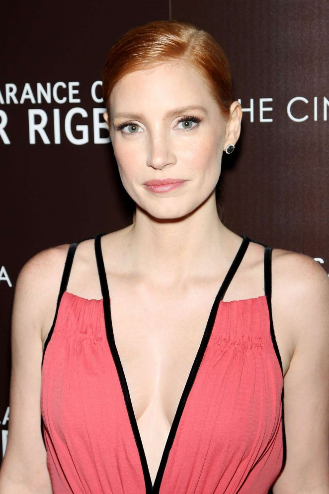 "Jessica Chastain - ""The Disappearance of Eleanor Rigby"" Premiere in New York City"