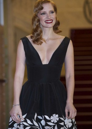 """Jessica Chastain - """"The Disapperance of Eleanor Rigby"""" Premiere in San Sebastian"""