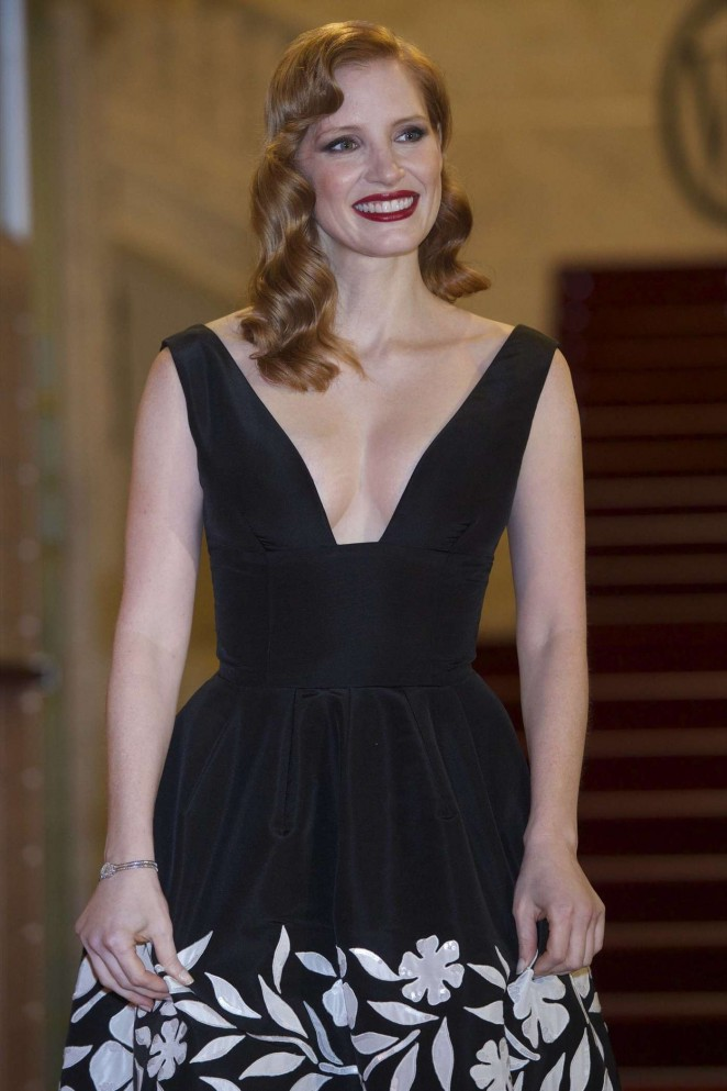 "Jessica Chastain – ""The Disapperance of Eleanor Rigby"" Premiere in San Sebastian"