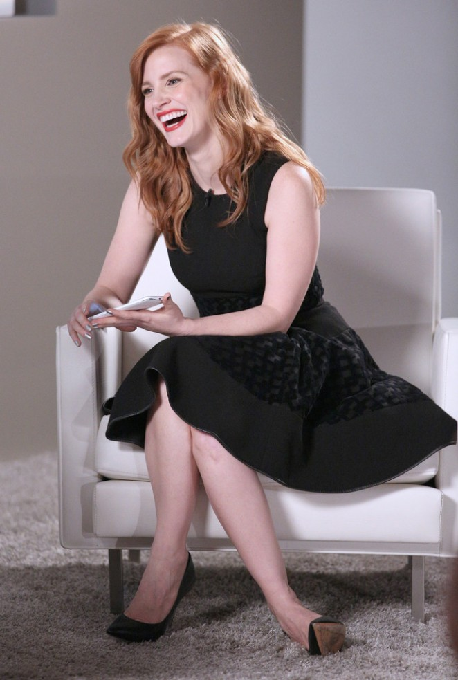 Jessica Chastain - Variety Studio: Actors On Actors presented by Samsung Galaxy in LA