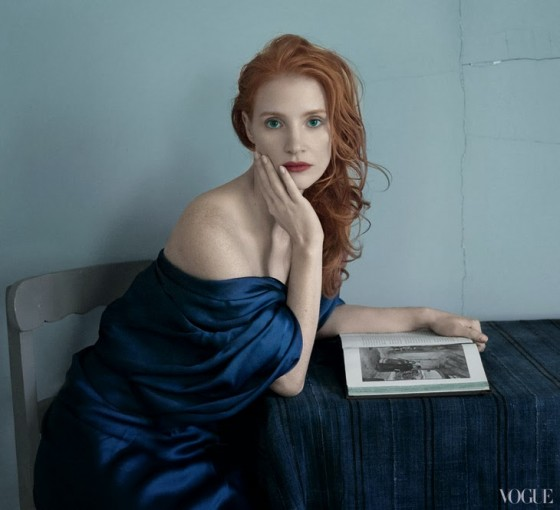 Jessica Chastain: Vogue US -02