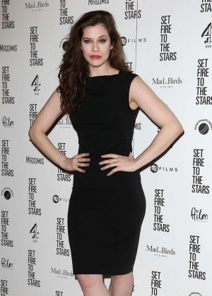 "Jessica De Gouw - ""Set Fire To The Stars"" Premiere in London"