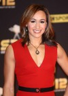Jessica Ennis in tight red dress at 2012 BBC Sports Personality of the Year Awards Ceremony in London