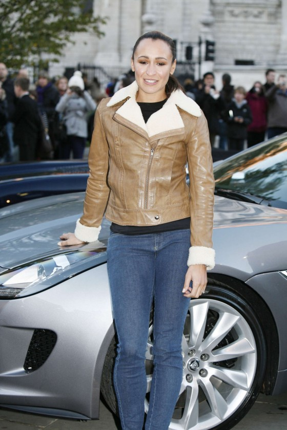 Jessica Ennis at a Jaguar Promotion in London