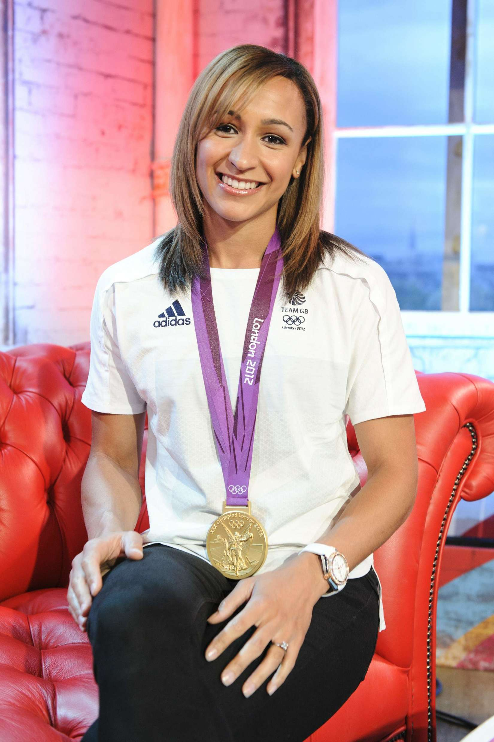 Jessica Ennis At Coca Cola Presents Beat Tv Showing Daily
