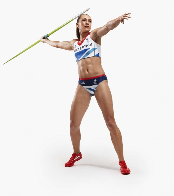 Jessica Ennis - looking amazing in a photoshoot for Team GB Olympic Kit