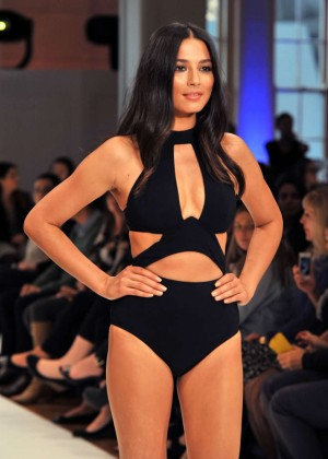 Jessica Gomes at David Jones Catwalk Show Spring/Summer 2015 in Sydney