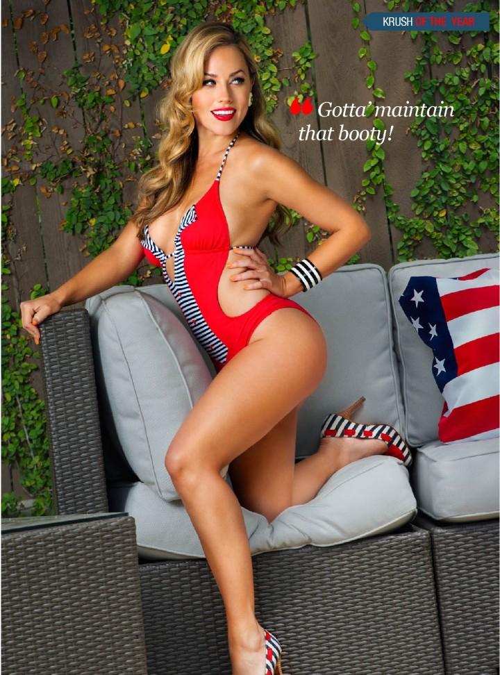 Jessica Hall Kandy Magazine 2014 Krush of the Year