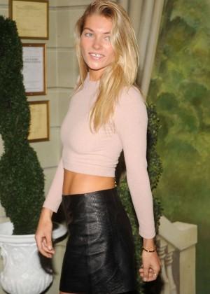 Jessica Hart - Alice + Olivia Fashion Show in NY