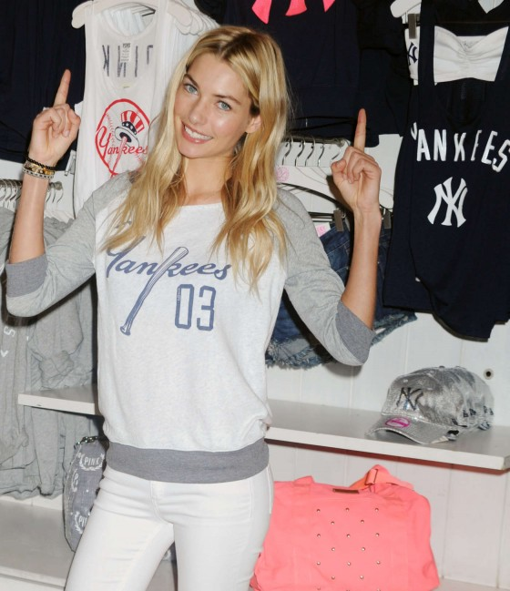 Jessica Hart at Victorias Secret MLB Collection -04