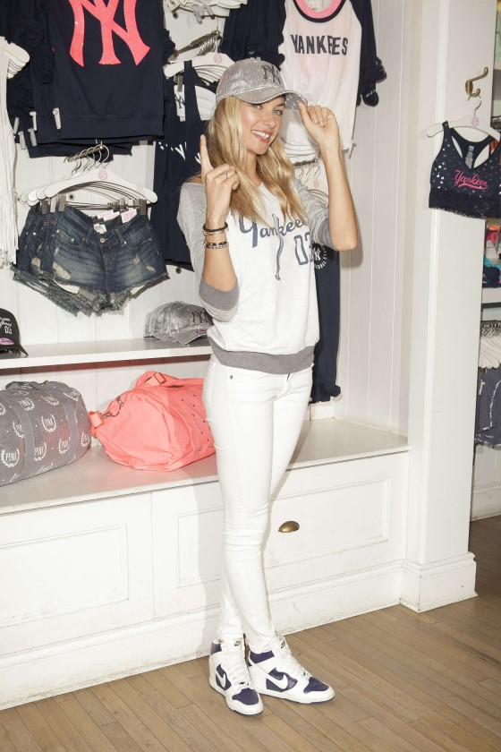 Jessica Hart at Victorias Secret MLB Collection -13