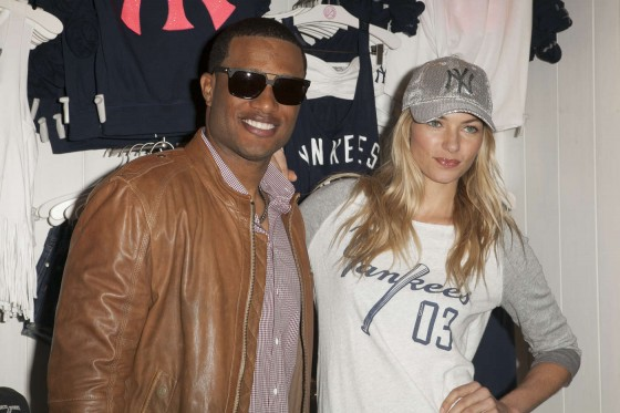 Jessica Hart at Victorias Secret MLB Collection -15