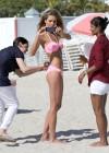 Jessica Hart Bikini Photos: Miami -36
