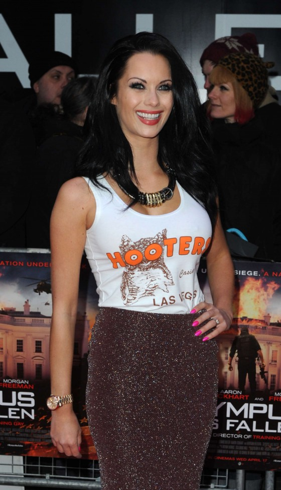 Jessica Jane Clement – Olympus Has Fallen Premiere in London