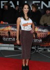 Jessica Jane Clement at Olympus Has Fallen Premiere in London -05