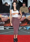 Jessica Jane Clement at Olympus Has Fallen Premiere in London -06