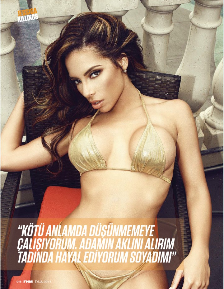 Jessica Killings - FHM Turkey Magazine (September 2014)