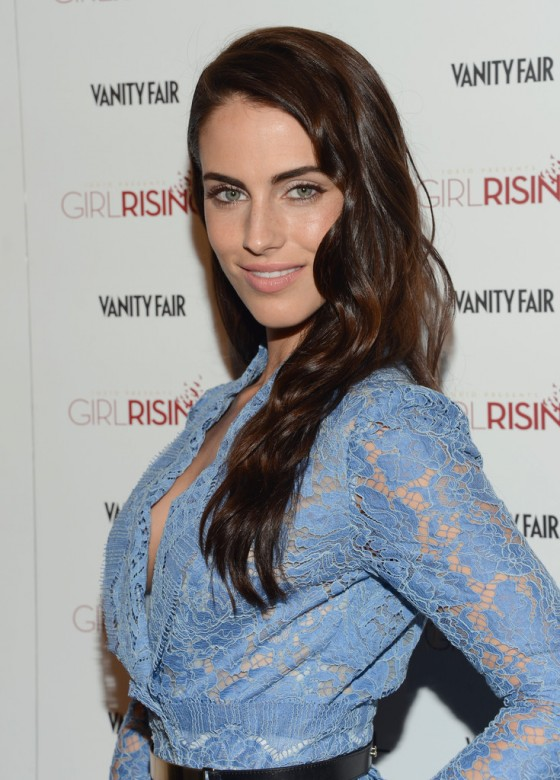 Jessica Lowndes at 2013 Vanity Fair and DJ Night with LOreal Paris Event in LA -05