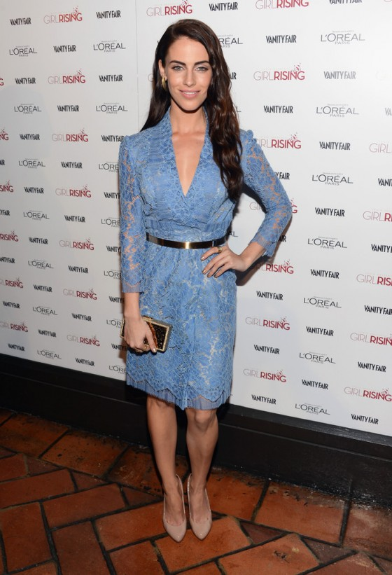 Jessica Lowndes at 2013 Vanity Fair and DJ Night with LOreal Paris Event in LA -06