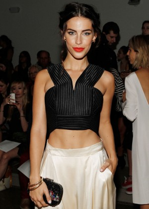 Jessica Lowndes - Houghton Fashion Show in NYC