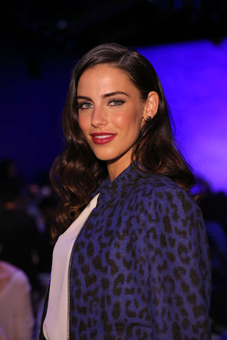 Jessica Lowndes - Rebecca Minkoff Spring 2015 Fashion Show in NYC