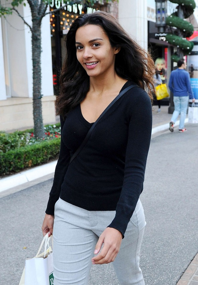 Jessica Lucas - The Grove in West Hollywood