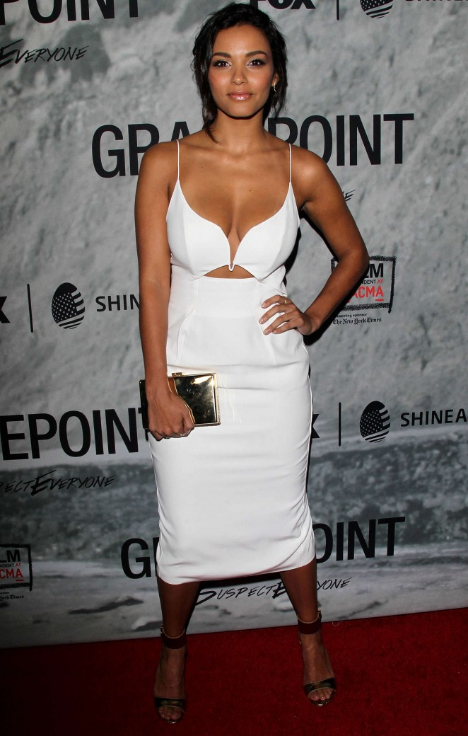 "Jessica Lucas - ""Gracepoint"" Screening in LA"