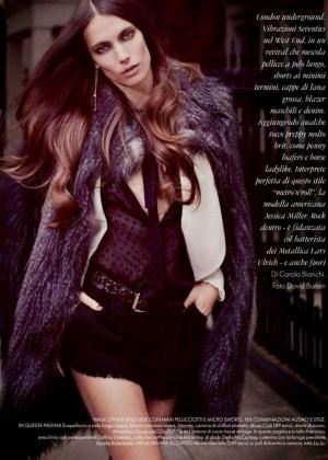 Jessica Miller - Elle Italy Magazine (November 2014)