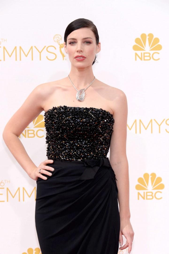 Jessica Pare - 66th annual Primetime Emmy Awards in LA