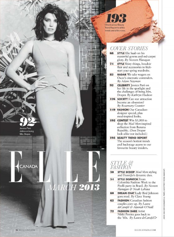 Jessica Pare – Elle – March 2013-05