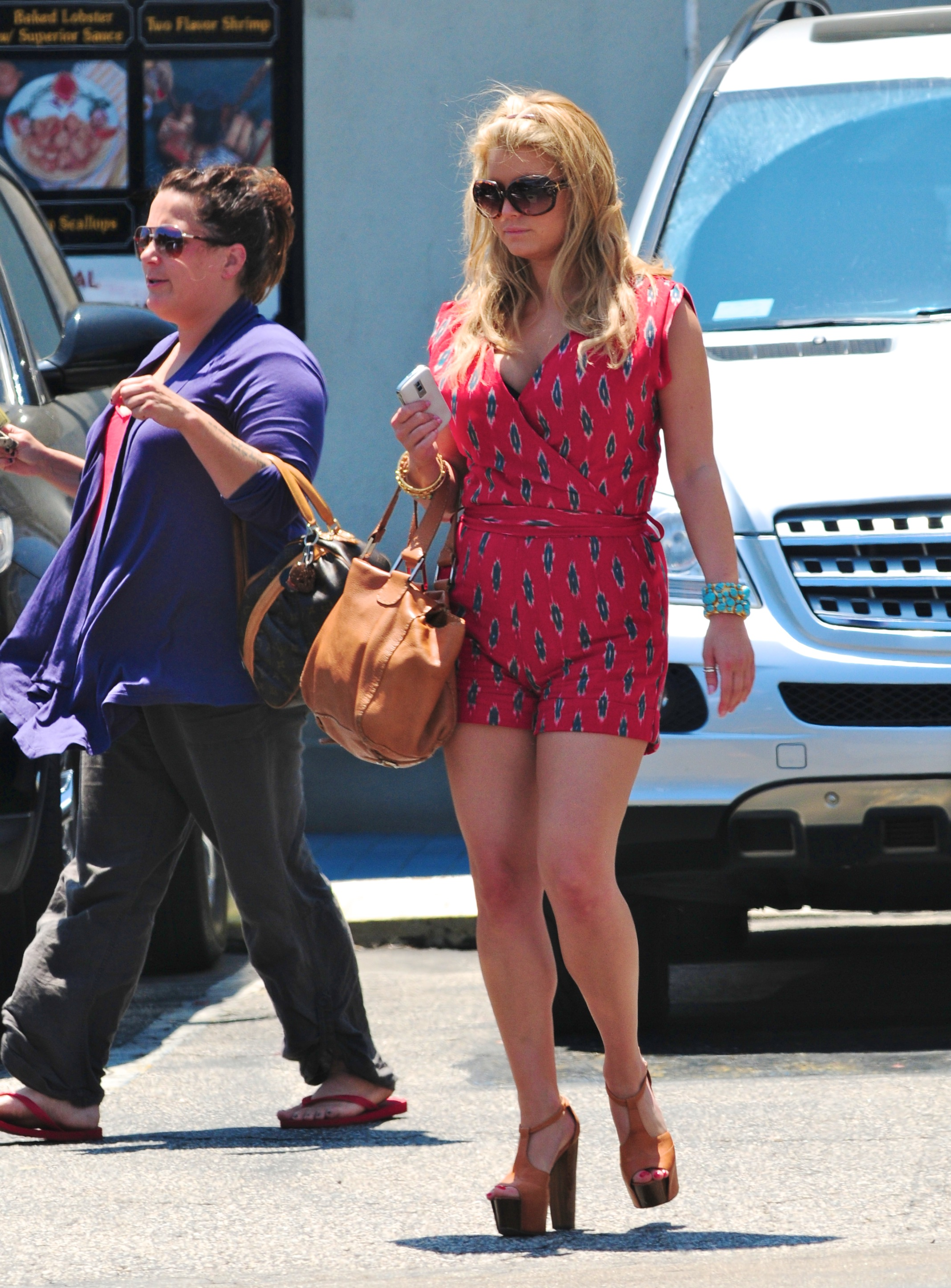 Jessica Simpson Candids In Los Angeles July 19 GotCeleb