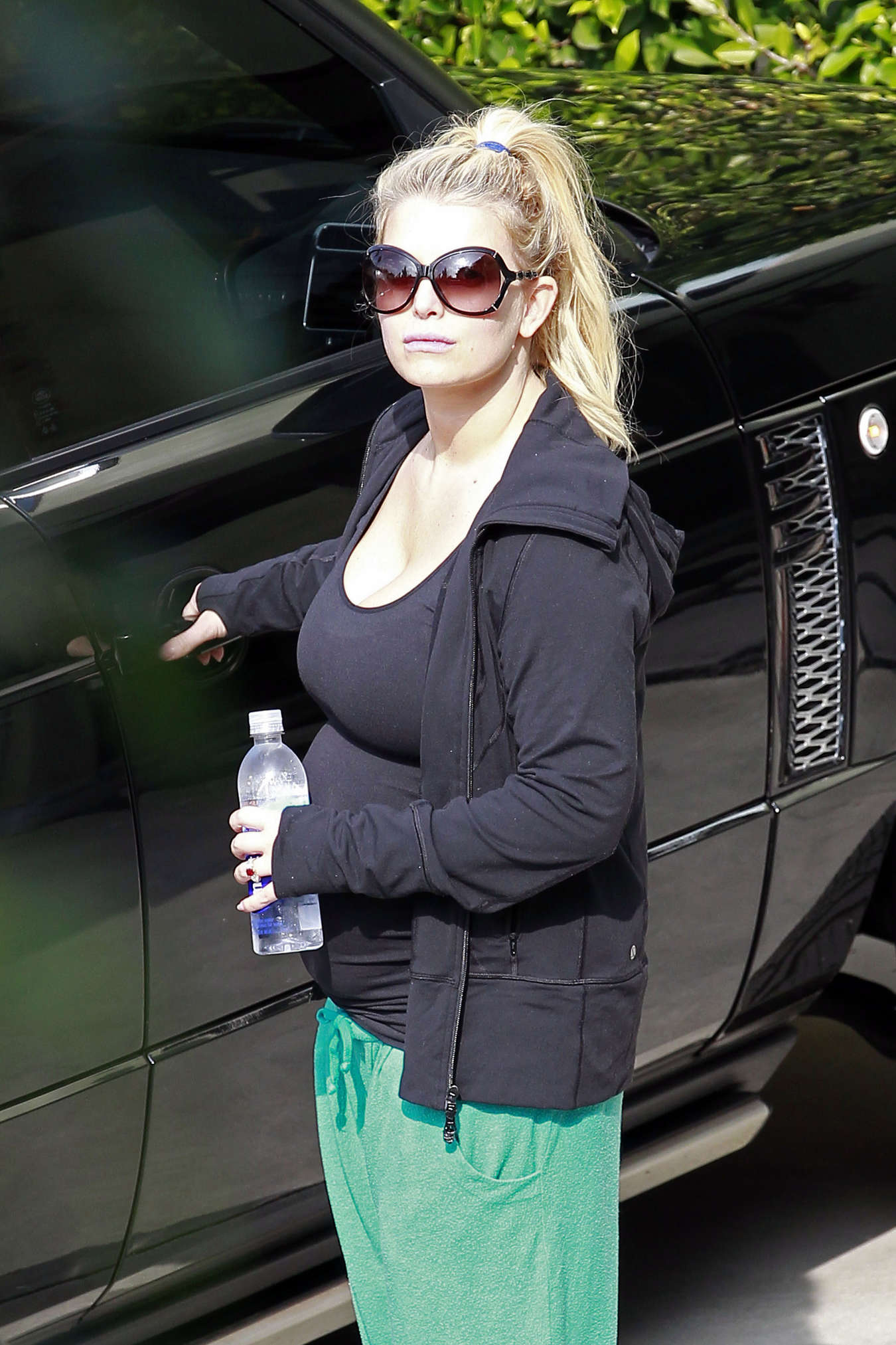 Jessica Simpson 2013 : Jessica Simpson – Heading to a gym  -09