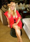 Jessica Simpson - Hot in red in a twitpic -01