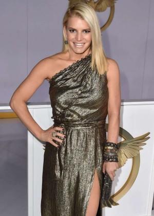 Jessica Simpson - 'The Hunger Games: Mockingjay - Part 1' Premiere in LA