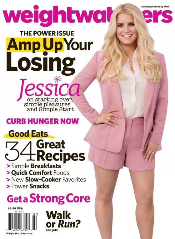 Jessica Simpson: Weight Watchers 2014 -01