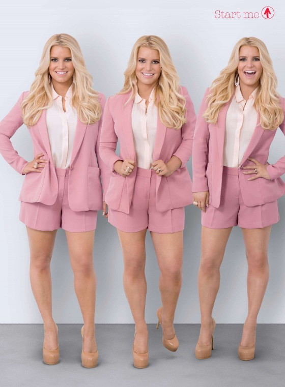 Jessica Simpson: Weight Watchers 2014 -02