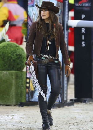 Jessica Springsteen - Gucci Horse Riding Masters in Paris
