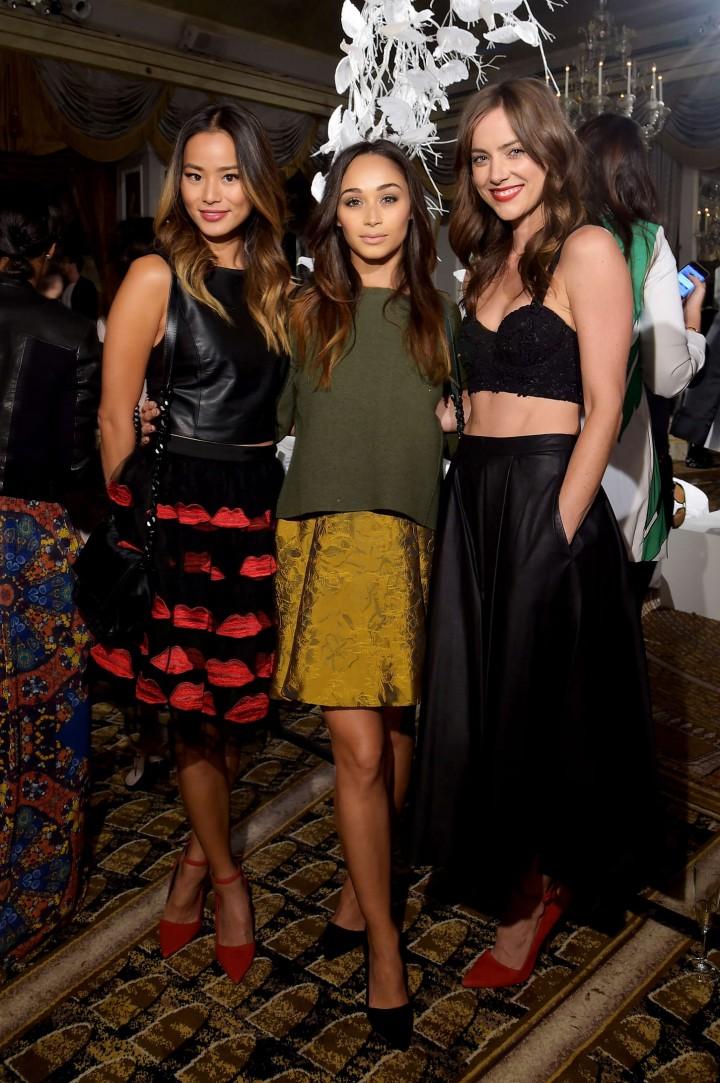 Jessica Stroup: Alice Olivia NY Fashion Show 2014 -19
