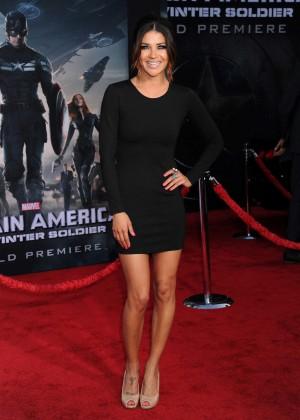Jessica Szohr - Captain America: The Winter Soldier Premiere -01