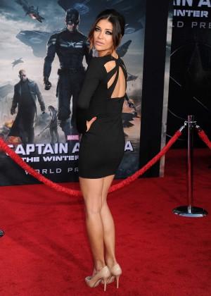 Jessica Szohr - Captain America: The Winter Soldier Premiere -02