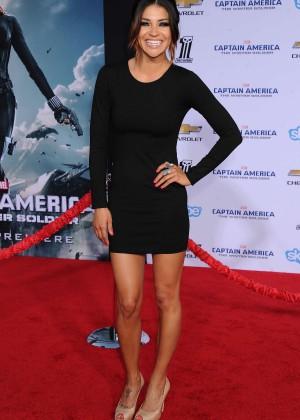 Jessica Szohr - Captain America: The Winter Soldier Premiere -05