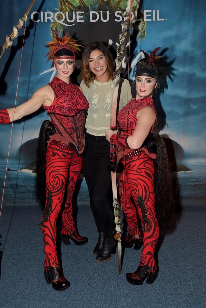 "Jessica Szohr - ""Cirque Du Soleil Amaluna"" Premiere Night in Atlanta"