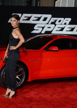 Jessica Szohr: Need For Speed Premiere -01