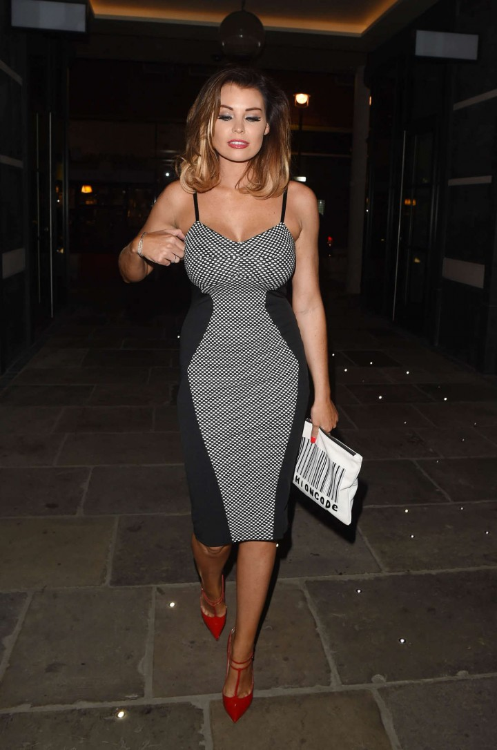 Jessica Wright in Tight Dress -04 - GotCeleb