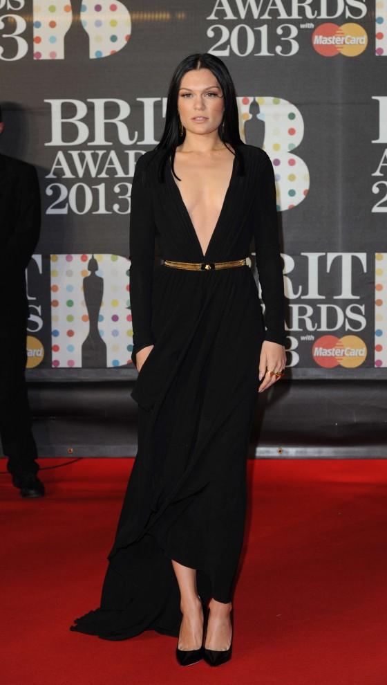 Jessie J at Brit Awards 2013 -01
