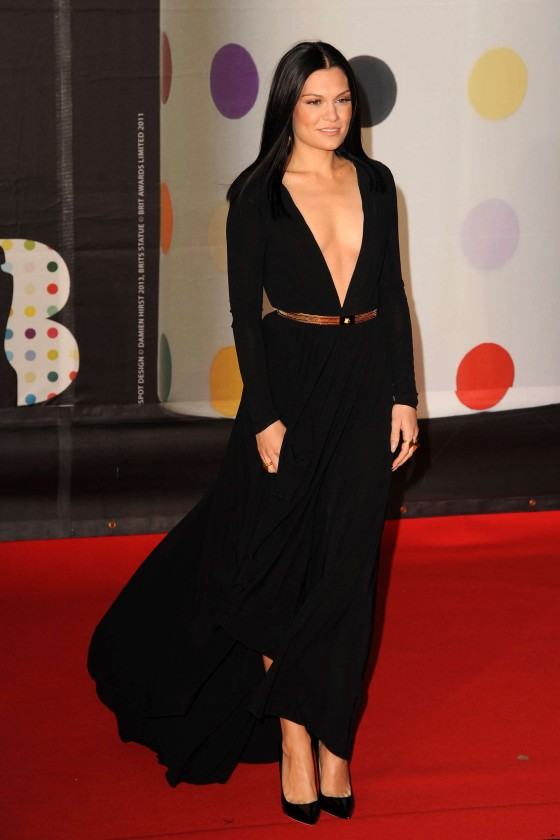 Jessie J at Brit Awards 2013 -02
